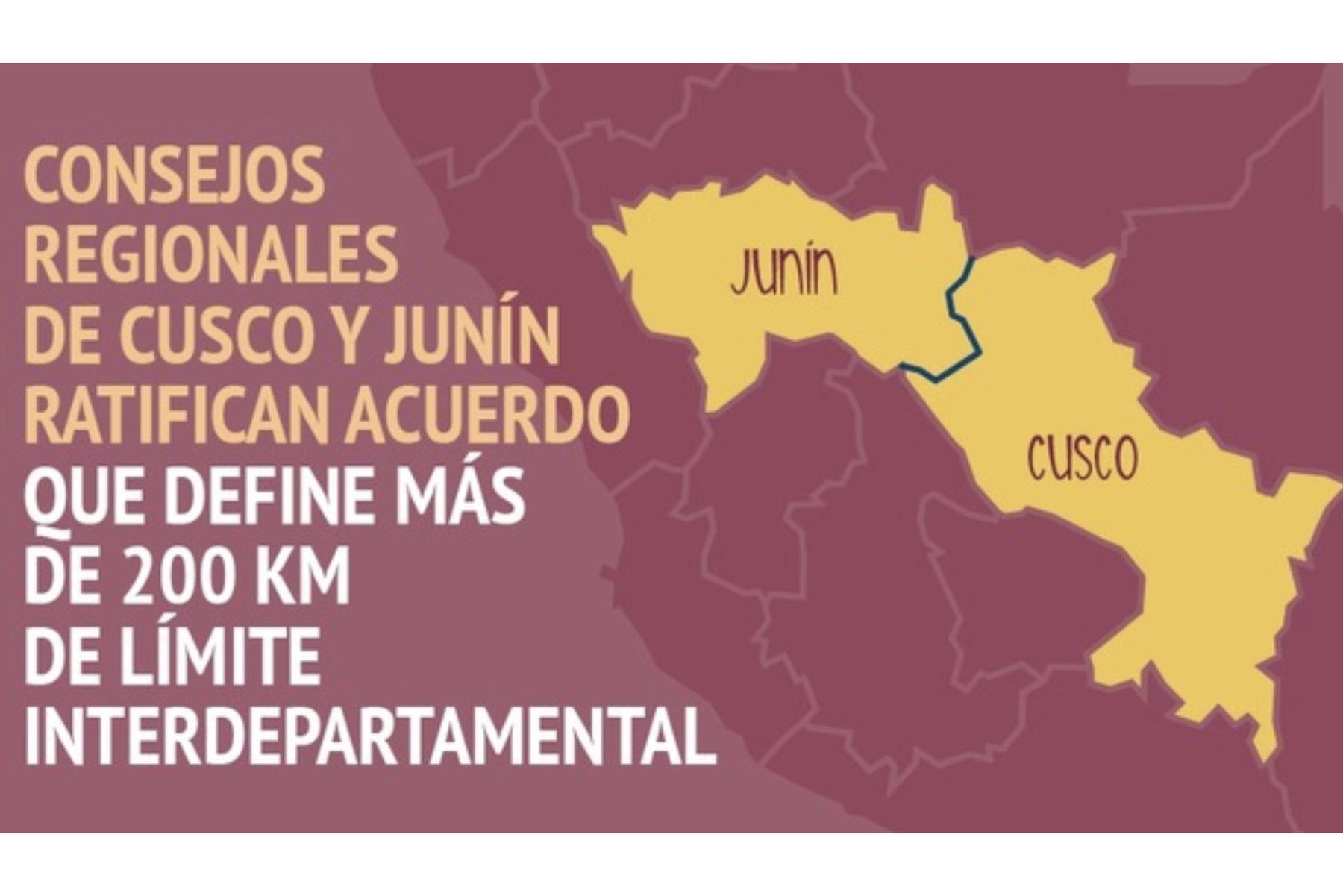 Reunión de Limites Junín – Cuzco