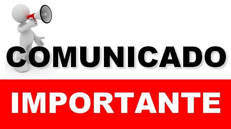 COMUNICADO N° 01-2020-COMITE CAS/MPS